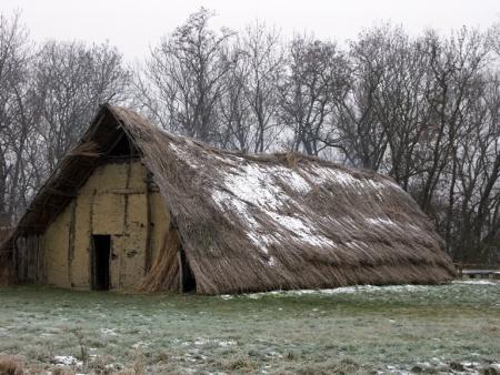 Březno - neolitický dlouhý dům