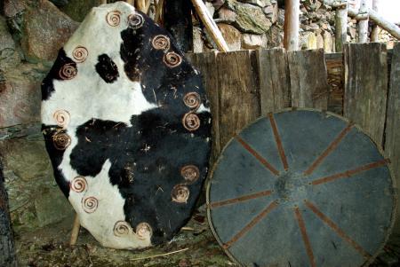 Jivjany - repliky keltských štítů