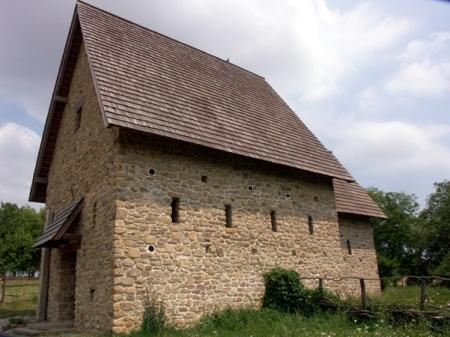 Modrá - kostel s. Jana